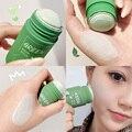 Зелёный чай Баклажан очистки палочки пластилина глубокого очищения масла-Управление обладает отбеливающим эффектом, анти-акне и черных то...