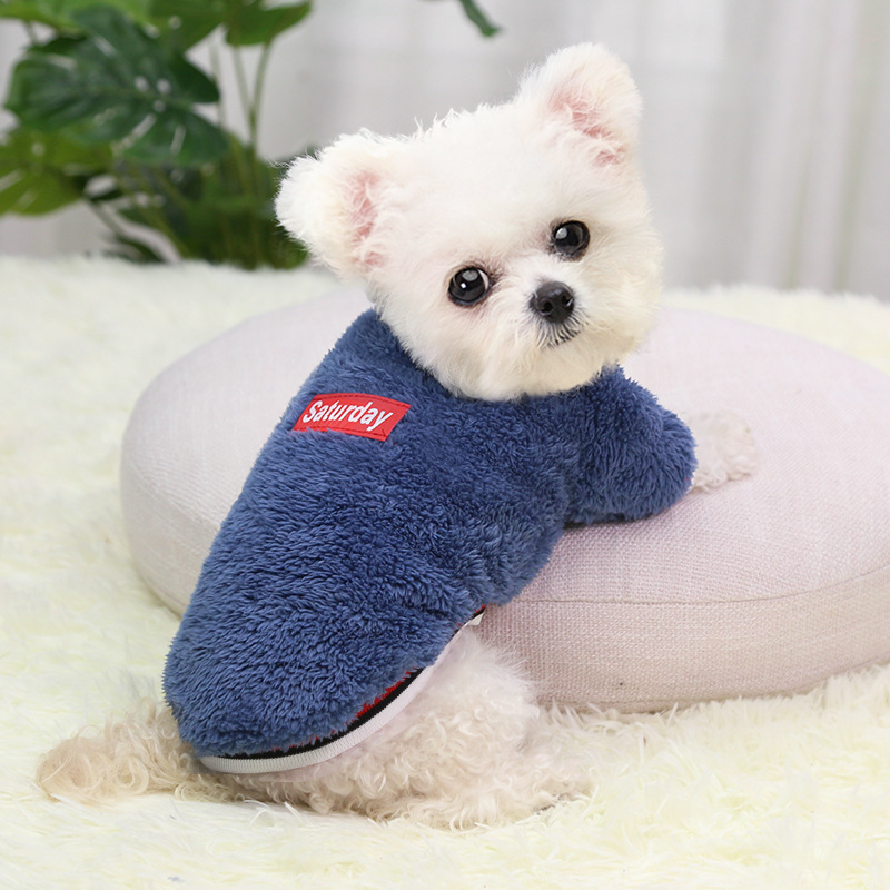 Cheap Dog Clothes for Small Dogs Wholesale Dog Clothing Puppy Chihuahua Yorkshire Terrier Clothes Winter Cat Sweater Pet Clothes