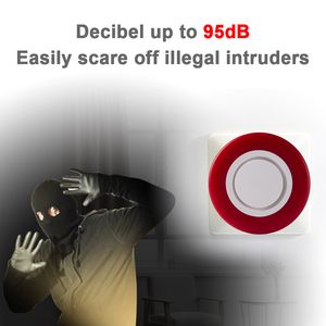Image 4 - Heiman Z Wave Sirene Alarm Flash Strobe Light Zwave Sound Speaker 95dB Voor Z Wave Smart Home Security Inbreker systeem