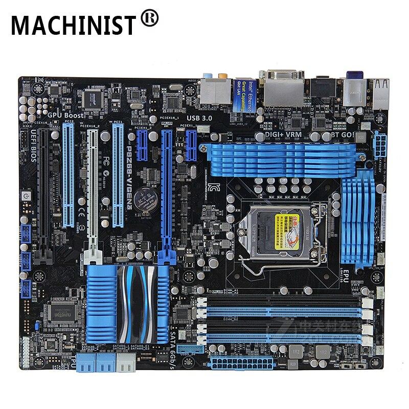 Original For ASUS P8Z68-V/GEN3 Desktop motherboard Z68 LGA 1155 ATX DDR3 32GB SATA3.0 USB3.0 PCI-E 3.0 100% fully Tested 1