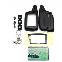 DXL3000 lcd display+Keychain Case for Russian Two Way Car Al