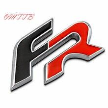 FR эмблема значка Kirsite автомобильные наклейки для Seat Leon 2 FR + Cupra Ibiza Altea Exeo формула гоночный автомобиль Стайлинг