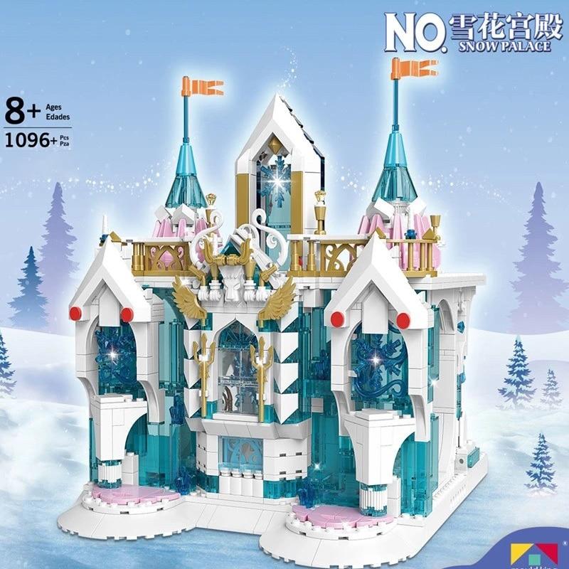 MOULD KING 11008 The MOC Frozen Entrance Model Building Blocks