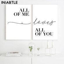 Affiches noires et blanches imprimées, peinture minimaliste, toile, photos artistiques murales pour décoration de salon et de chambre à coucher