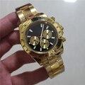 2019 Горячая продажа Montre люкс Homme мужские часы механические часы из нержавеющей стали механические мужские наручные часы 2019