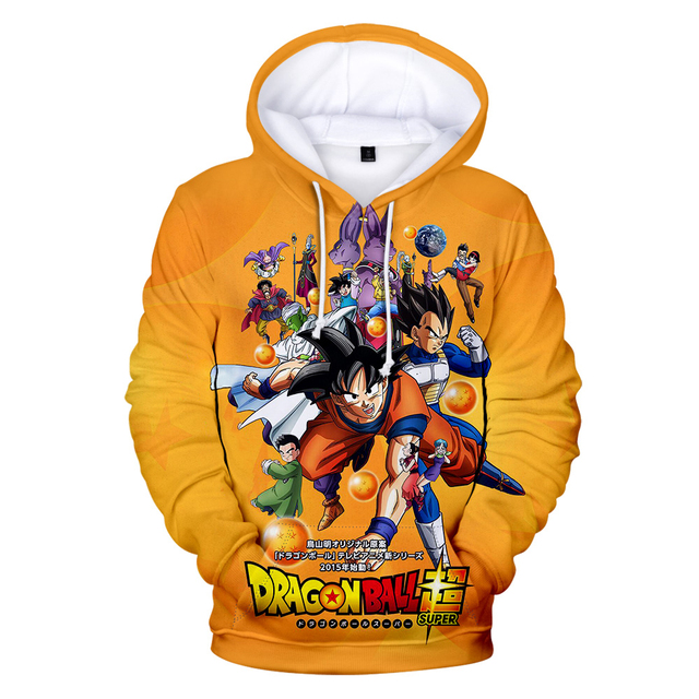 3D DRAGON BALL THEMED HOODIE (8 VARIAN)
