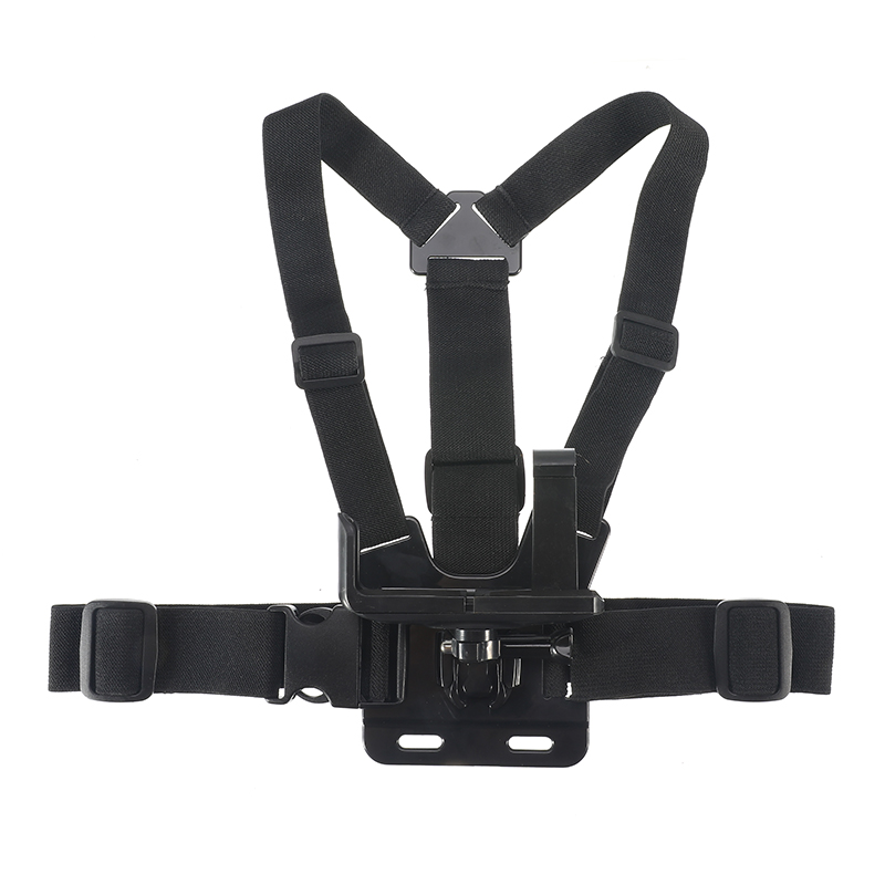 Universal 6-8.5cm Width Mobile Phone Mount Holder + Adjustable Clip Chest Harness Strap Cellphone For IPhone Samsung Portable