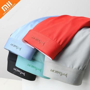 Xiaomi 3 sztuk bielizna męska Ice Silk cienkie męskie bokserki oddychające męskie bokserki bezszwowe majtki męskie stałe kolory szorty spodnie tanie i dobre opinie NONE CN (pochodzenie)