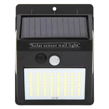 Настенный светильник с датчиком движения на солнечной батарее, гладкий внешний вид, превосходное мастерство, водонепроницаемый 100 светодио...