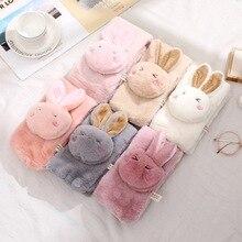 Модные зимние детские шарфы с милым кроликом из мультфильма; Детские теплые короткие шарфы для мальчиков и девочек; Детские шарфы с воротником