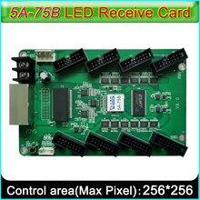 Colorlight 5a-75b cartão de recepção v8.0 versão, módulo de exibição led completo-cor cartão de recepção byo hub75