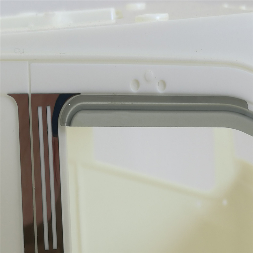 Image 2 - 1 pair Sun Visor Wind Deflector for 1/14 Tamiya Volvo 56360 RC Truck Accessories Assembly Car Model Upgrade PartsParts & Accessories   -