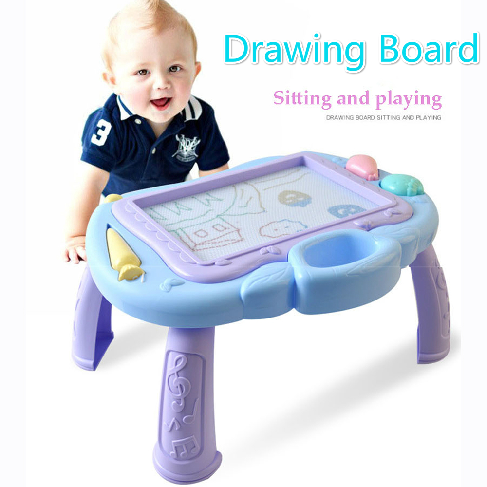 Magnetic Drawing Board Sketch Pad Doodle Writing Painting Graffiti Art Kids Children Educational Toys Writing Table Drawing TOYS