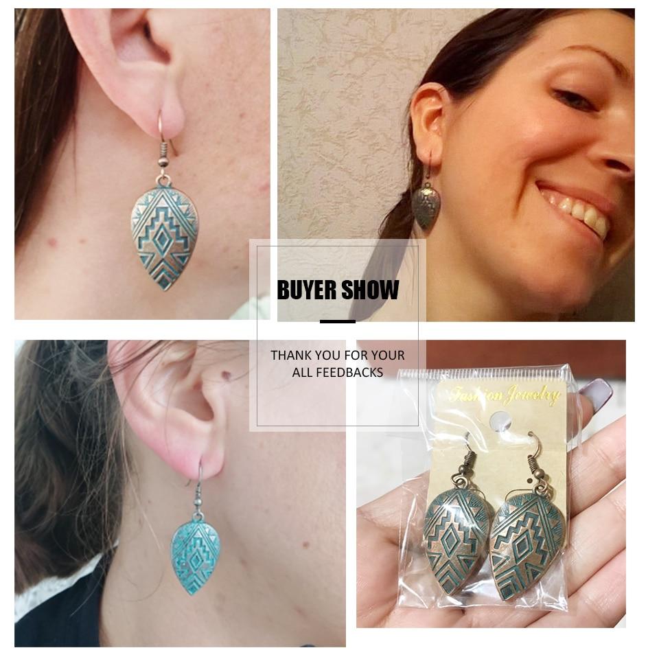 Boho Ethinic Dangle Drop Earrings Hanging for Women  5