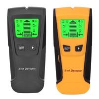 3 em 1 handheld detector de metais de profundidade profissional pinpointer parafuso prisioneiro localizador sensor do varredor da parede para o fio detectar buscadores de metais|Máquinas de medição da visão|   -
