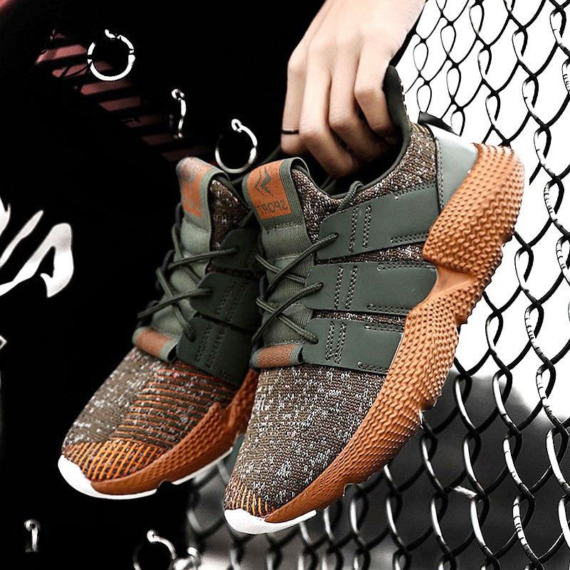 CatriCa Plus grande taille 2019 nouveau tricot Designer offre spéciale hommes chaussures mode haute qualité baskets baskets noir gris vert 001