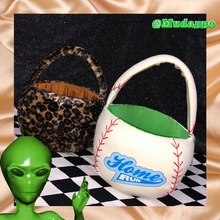 Baseball Leopard Handbags Bucket Women Fashion Plush Bag Multi-function New Ladies Crossbody Packages TB21