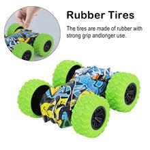 Giocattolo per bambini inerzia-doppio lato acrobatica Graffiti Car Off Road Model Car Vehicle giocattolo per bambini collezione di auto regalo tirare indietro modello regalo