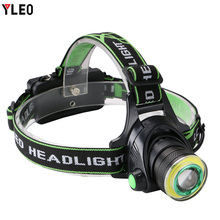 Bike Front Light Induction Bicycle Bright USB Charging Flashlight Cycling Waterproof Torch Fishing Led headlight