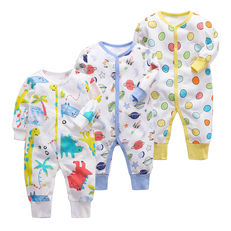 Newborn Baby Boys Girls Blanket Sleepers Babies Sleepwear Infant Long Sleeve 3 6 9 12 18 24 Months baby Pajamas
