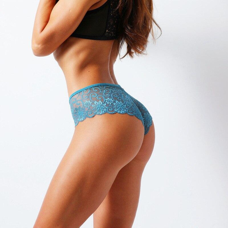 Plus Size S/XL Yoga Shorts Women's Panties Transparent Underwear Women Lace Soft Briefs Sexy Lingerie Intimates Workout Shorts