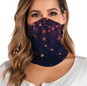 Seamless Magic Neck Gaiter unisex Face Mask Scarves women Outdoor cycling Headband Windproof Sun Protection Bandana Scarves