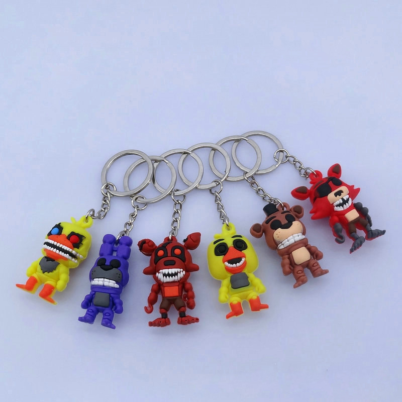 Five Nights At Freddy's Toys PVC Action Figures FNAF Chica Bonnie Foxy Funtime Freddy Fazbear Puppet Nightmare Bear Dolls image