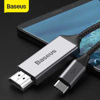 Baseus usb c HDMI Cable 4K 60Hz Type c to HDMI extension adapter Cable for Huawei P30 pro Xiaomi mi 9 Samsung S10 S9 OnePlus 7