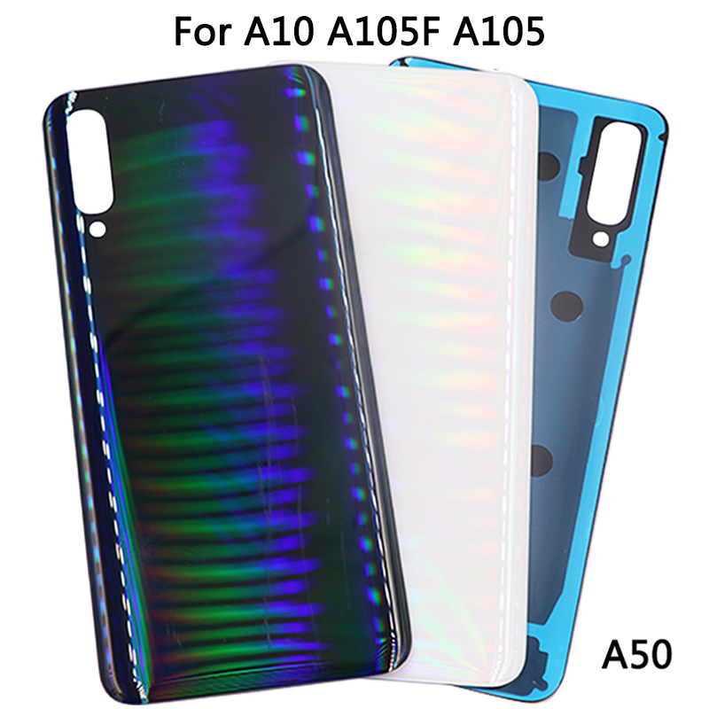 New A20 A30 A40 <font><b>Battery</b></font> Cover For <font><b>Samsung</b></font> <font><b>Galaxy</b></font> A50 A60 <font><b>A70</b></font> Back Cover Rear Glass Housing <font><b>Case</b></font> image