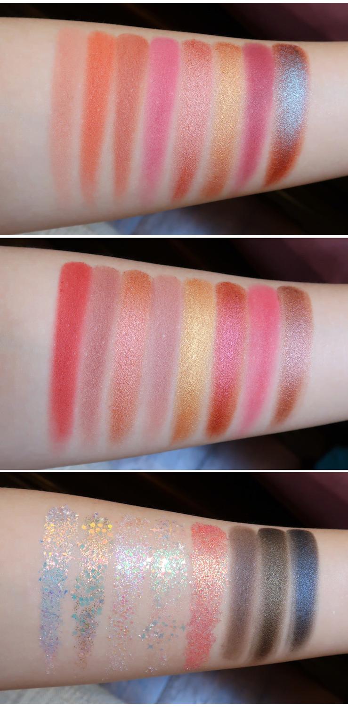 glitter sombra paleta paleta paleta palete metalico 05