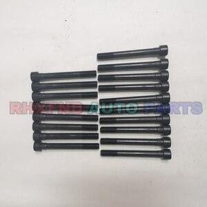 Image 2 - 18pcs 4d56t 4d56 헤드 볼트 너트 현대 h1 h100 갤럽 exceed for mitsubishi montero pajero l300 canter 2476cc 2.5td