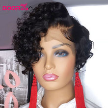 Wigs Human-Hair-Wigs Body-Wave Density Lace-Front Dejavu Women for 13--4 150-%