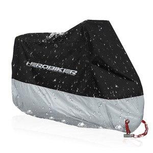 Image 2 - HEROBIKER غطاء دراجة نارية دراجة كل موسم مقاوم للماء الغبار الأشعة فوق البنفسجية واقية في الهواء الطلق داخلي موتو سكوتر دراجة نارية غطاء للمطر