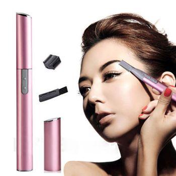 Hot 2 Colors Practical Electric Face Eyebrow Scissors Hair Trimmer Mini Portable Women Body Shaver Remover Blade Razor Epilator 1