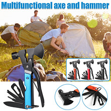 Survival-Gear Multitool Hacha Camping Tomahawk Camping-Accessories T 14-In-1hatchet And