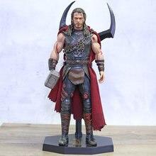 Brinquedos loucos thor ragnarok 1/6 escala estátua figura pvc super herói modelo brinquedo brinquedos