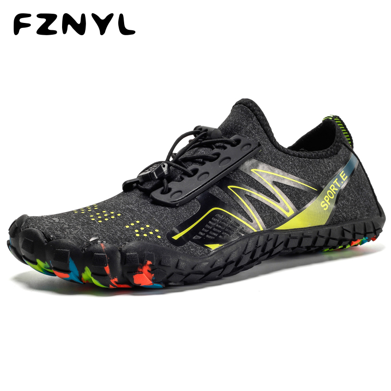 FZNYL 2019 Summer Men Sandals Women Men Breathable Quick Dry Sandal Outdoor Rubber Outsole Men's Beach Shoes Big Size 39 46 47