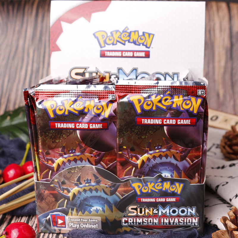 4pcs/set Pokemon TCG English Edition Card Energy Card Prop Card Pikamon Pokemon Lost Thunder Supplement Pack Kids Toy Gift