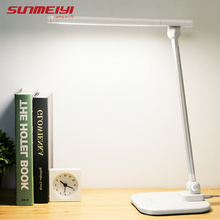 Reading Light Desk-Lamp Led-Stand Touch-Switch Bedroom Office Modern Led Rechargeable