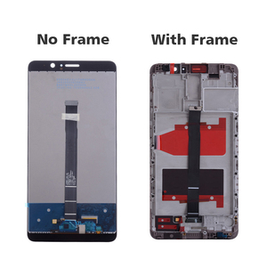 Image 4 - Оригинальный Для huawei mate 9 ЖК дисплей сенсорный экран дигитайзер для huawei mate 9 дисплей с рамкой Замена MHA L09 MHA L29