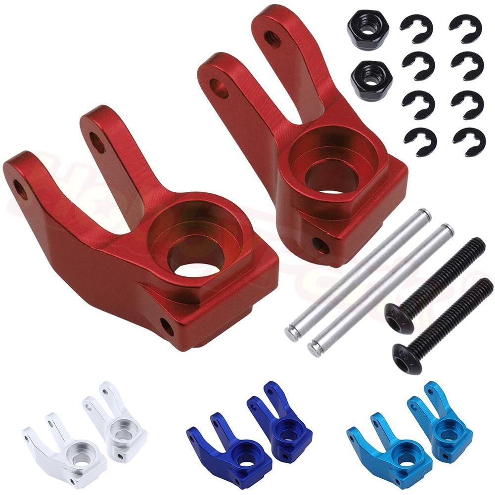 Aluminum Front Steering Carrier Blocks For Traxxas Slash 2WD1/10 Short Course / Stampede 2WD / Rustler VXL 3736 Upgrade Parts