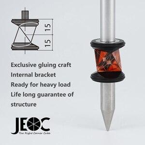 Image 1 - Jeoc grz101 com suporte interno, mini prisão de 360 graus para estação total leica