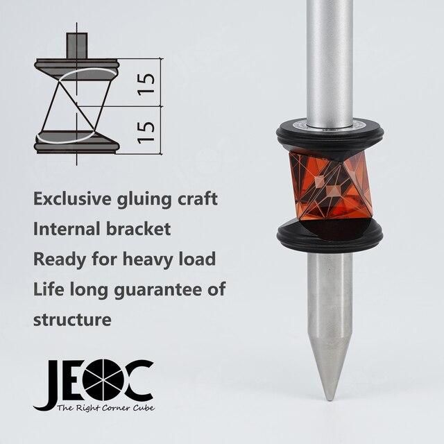 Jeoc grz101 com suporte interno, mini prisão de 360 graus para estação total leica