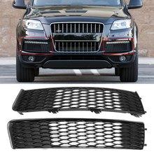 Автомобильный передний бампер, противотуманная фасветильник, решетка радиатора для Audi Q7 S LINE 2009-2015 4L0807697B