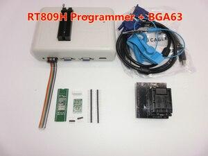 Image 5 - EMMC Nand FLASH RT809H ORIGINAL de Nuevo Software, programador universal extremadamente rápido TSOP56 TSOP48 BGA63