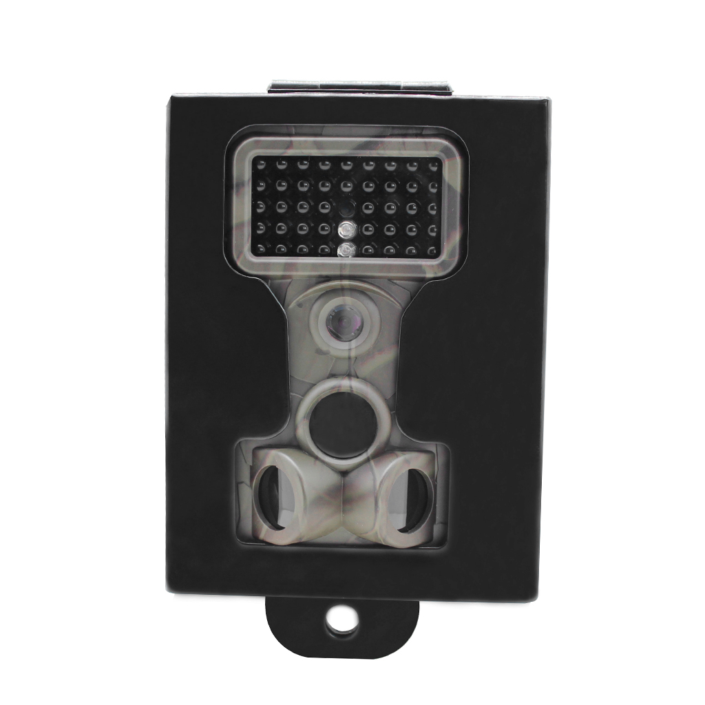 Metal Camera Security Box Case Protective Cover for Outdoor Game Trail Camera, against Thief and Damage image