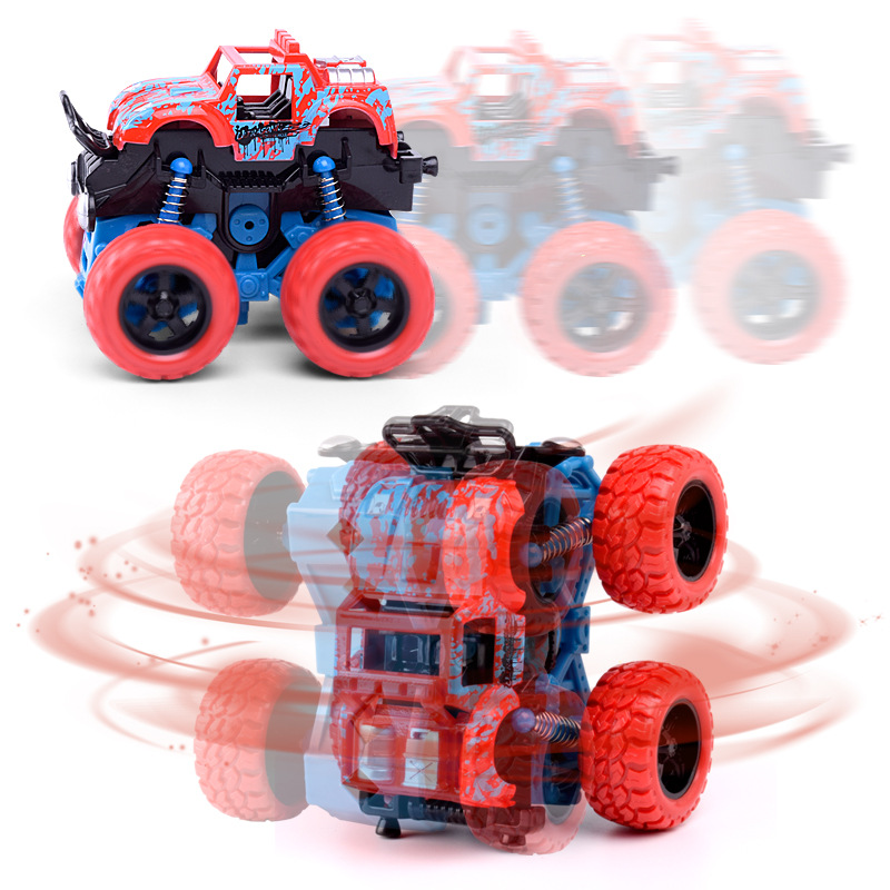 Baby Simulation Car Toy Inertia Four-Wheel Drive Off-Road Vehicle Model Baby Boys Super Cars Blaze Truck For Children Toys Gifts