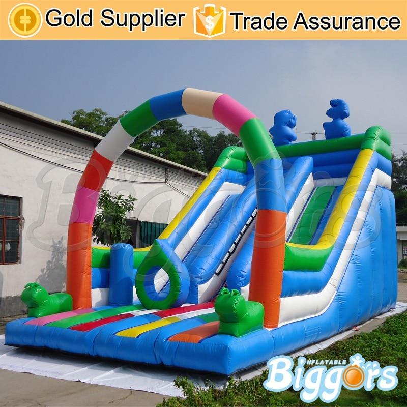 Commercial-Inflatable-Bounce-House-Castle-Slide-ComboKJNK