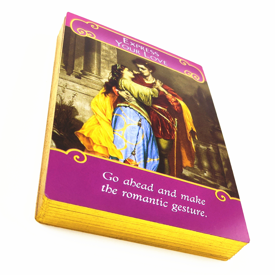 The Romance Angels Oracle Cards  Magic Card Game:read Fate Tarot Card Game For Personal Use Family Party  Board Game