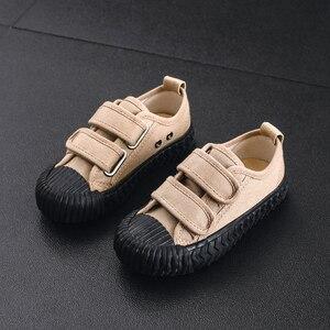 Image 5 - JAKOBBEAR çocuklar tuval rahat ayakkabılar kız erkek çocuk tuval bahçe ayakkabı